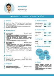 Smart resume example